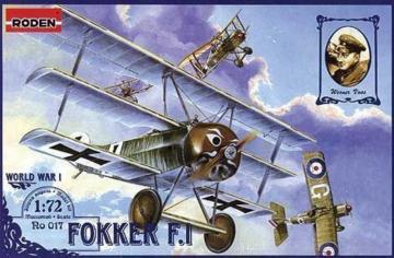 Fokker F.I · RD 017 ·  Roden · 1:72