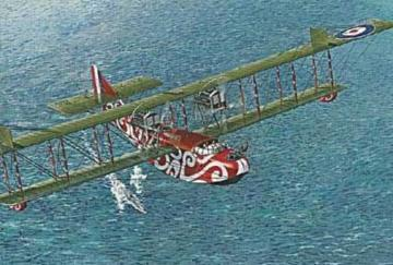 Felixstowe F.2A early Version · RD 019 ·  Roden · 1:72