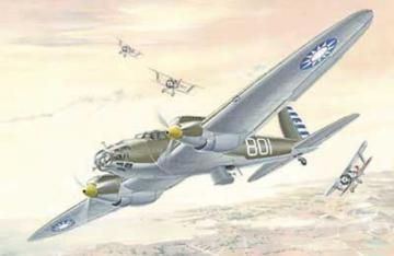 Heinkel He 111 A LIMITED EDITION · RD 021 ·  Roden · 1:72