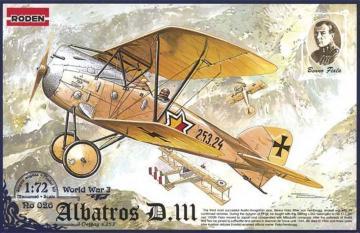 Albatros D.III Oeffag s.253 · RD 026 ·  Roden · 1:72
