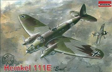 Heinkel He 111 E Emil · RD 027 ·  Roden · 1:72