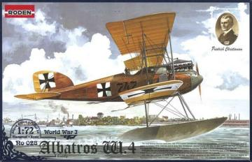 Albatros W.IV (early) · RD 028 ·  Roden · 1:72