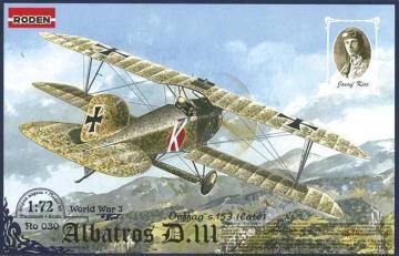 Albatros D.III Oeffag s.153(late) · RD 030 ·  Roden · 1:72