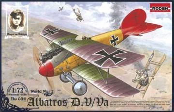 Albatros D.V/D.Va · RD 032 ·  Roden · 1:72