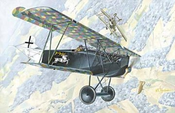 Fokker D.VII Alb early · RD 033 ·  Roden · 1:72