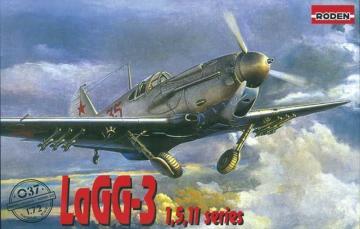 LaGG-3 series 1,5,11 · RD 037 ·  Roden · 1:72