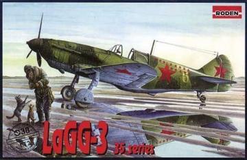 LaGG-3 series 35 · RD 038 ·  Roden · 1:72