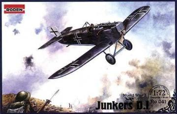 Junkers D.I · RD 041 ·  Roden · 1:72