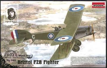 Bristol F.2B Fighter · RD 043 ·  Roden · 1:72