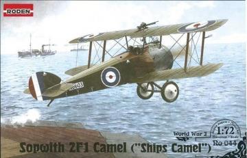 Sopwith 2F1 Camel Ships Camel · RD 044 ·  Roden · 1:72