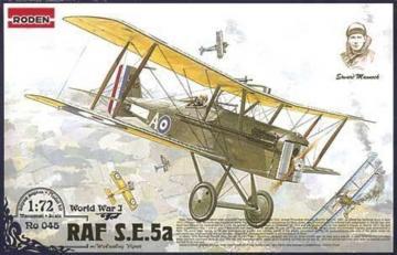 RAF S.E.5a w/Wolseley Viper · RD 045 ·  Roden · 1:72