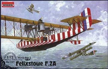 Felixstowe F.2A w/upper wing gunner position · RD 047 ·  Roden · 1:72