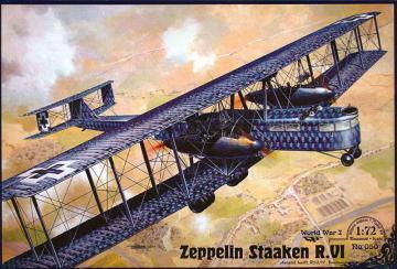 Zeppelin Staaken R.VI (Aviatik, 52/17) · RD 050 ·  Roden · 1:72