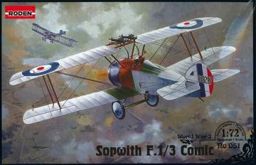 Sopwith F.1/3 Comic Night Interceptor · RD 051 ·  Roden · 1:72