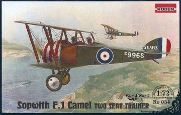 Sopwith T.F.1 Camel Two Seat Trainer · RD 054 ·  Roden · 1:72