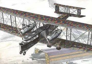 Zeppelin Staaken R.VI · RD 055 ·  Roden · 1:72