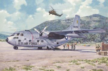 Fairchild C-123B Provider · RD 056 ·  Roden · 1:72