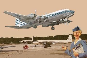 DC-7C Pan American World Airways · RD 301 ·  Roden · 1:144