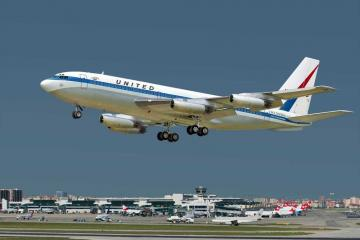 Boeing 720 United · RD 320 ·  Roden · 1:144
