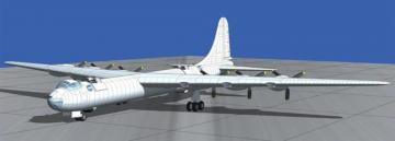 Convair B-36B Peacemaker (Early) · RD 347 ·  Roden · 1:144