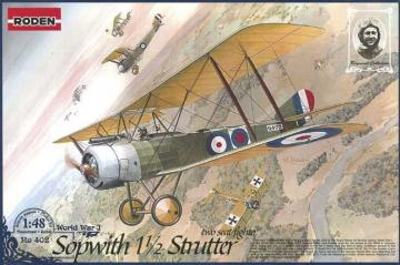 Sopwith 11/2 Strutter two-seat fighter · RD 402 ·  Roden · 1:48