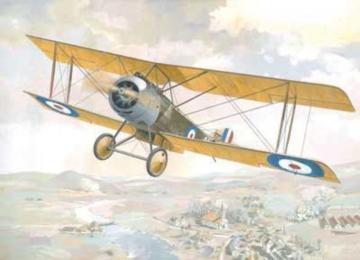 Sopwith 1 1/2 Strutter single-seat bomber · RD 404 ·  Roden · 1:48