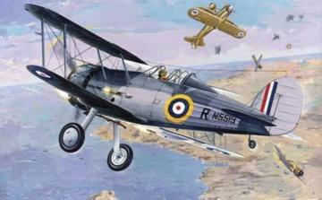 Gloster Sea Gladiator · RD 405 ·  Roden · 1:48