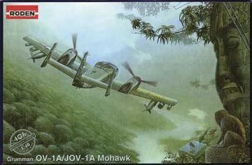 OV-1A/JOV-1A Mohawk · RD 406 ·  Roden · 1:48