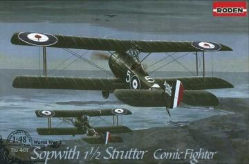 Sopwith 11/2 Strutter Comic fighter · RD 407 ·  Roden · 1:48