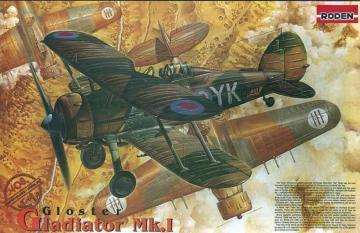 Gloster Gladiator Mk.I · RD 408 ·  Roden · 1:48