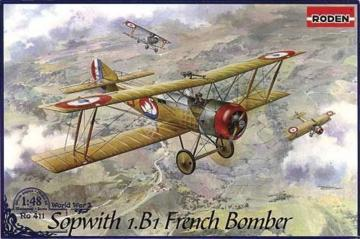 Sopwith 1.B1 French Bomber · RD 411 ·  Roden · 1:48