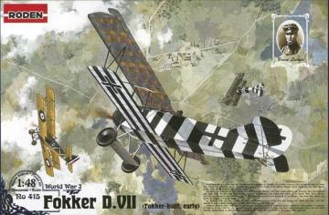 Fokker D.VII (early) · RD 415 ·  Roden · 1:48