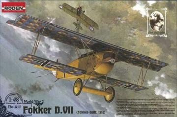 Fokker D.VII F (late) · RD 417 ·  Roden · 1:48