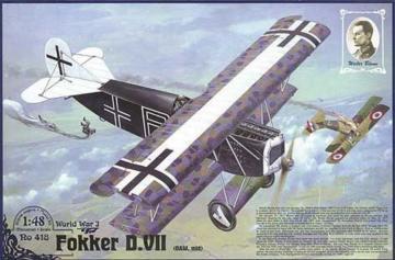 Fokker D.VII ( OAW) ´´Walter Blume´´ · RD 418 ·  Roden · 1:48
