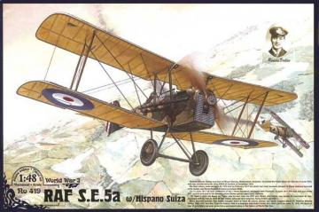 RAF S.E.5a w/ Hispano Suiza · RD 419 ·  Roden · 1:48