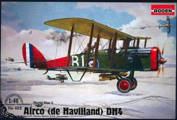 De Havilland D.H.4 (Eagle Engines) · RD 422 ·  Roden · 1:48
