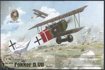 Fokker D.VII · RD 424 ·  Roden · 1:48