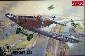Junkers D.I late · RD 434 ·  Roden · 1:48