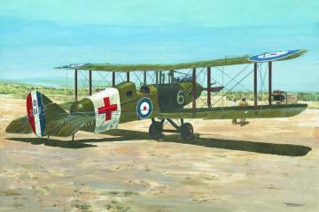 De Havilland D.H.9 Ambulance · RD 436 ·  Roden · 1:48