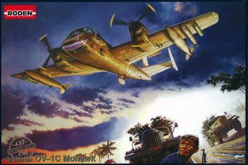 OV-1C Mohawk · RD 437 ·  Roden · 1:48