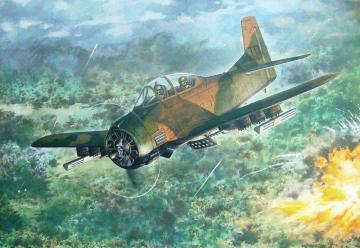 North American T-28D Trojan · RD 450 ·  Roden · 1:48