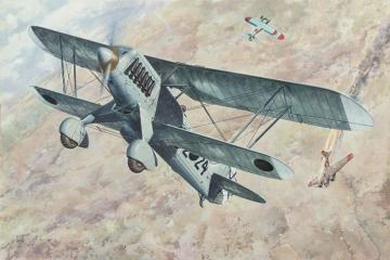 Heinkel He-51 B-1 · RD 452 ·  Roden · 1:48