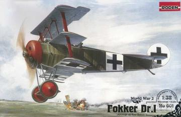 Fokker Dr.I · RD 601 ·  Roden · 1:32