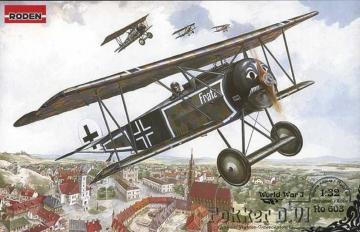 Fokker D.VI · RD 603 ·  Roden · 1:32