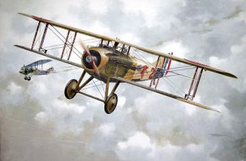 Spad VII c.1 (French) · RD 604 ·  Roden · 1:32
