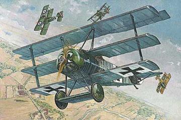 Fokker F.I · RD 605 ·  Roden · 1:32