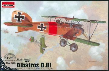 Albatros D.III · RD 606 ·  Roden · 1:32