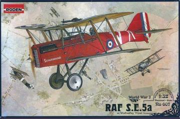 RAF S.E.5a w/Wolseley Viper · RD 607 ·  Roden · 1:32
