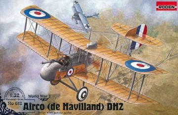 De Havilland DH-2 · RD 612 ·  Roden · 1:32