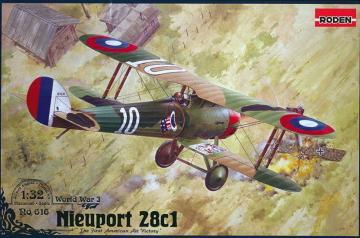 Nieuport 28 c.1 · RD 616 ·  Roden · 1:32